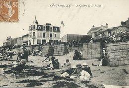 50,Manche, COUTAINVILLE, Le Centre De La Plage, Animations,Scan Recto-Verso - Otros Municipios