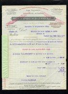 18401-facture-4396    Vins Mousseux Ingrandes Anjou 1930 - 1900 – 1949