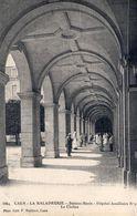 Cpa Caen 14 Calvados La Maladrerie Hopital Auxiliaire Le Cloitre Militaire - Caen