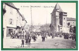 19 - ALLASSAC - Eglise Et Place - Other Municipalities