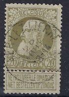 Nr. 75 Met Stempel BERLAER - LEZ - LIERRE  ; Staat Zie Scan ! Inzet Aan 5 € ! - 1905 Grosse Barbe