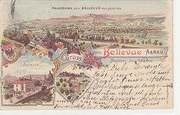 Aarau - Gruss Vom Bellevue - Int. Militärstempel - 1909      (P-127-41231) - AG Argovie
