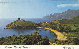 Golfe De Girolata - Le Village Domine Par Le Fort Genois - France
