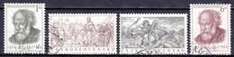Tchécoslovaquie 1952 Mi 755-6+772-3 (Yv 663-6), Obliteré - Used Stamps