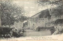 - Vendee -ref-E482- Treize Vents  Pres Mortagne - Gentilhommiere XVe S. Chateau - Chateaux - Batiments Et Architecture - - Francia