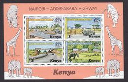 Kenya, Scott #97a, Mint Never Hinged, Kenya-Ethiopia Border, Issued 1977 - Kenya (1963-...)