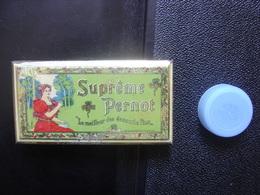 Boite Ancienne Fer SUPREME PERNOT DIJON 5x9x1,5 Cm - Boxes