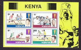 Kenya, Scott #116a, Mint Never Hinged, Soccer, Issued 1978 - Kenya (1963-...)