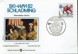 Österreich Austria 1982 - Alpine Skiweltmeisterschaften, Schladming - MiNr 1695 - Ski