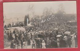 Vergnies - Fête De Le Libération 1919 ... Monument Gossec - Carte Photo (voir Verso ) - Froidchapelle