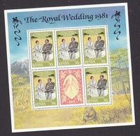 Kenya, Scott #194 Sheet, Mint Never Hinged, Royal Wedding, Issued 1981 - Kenya (1963-...)