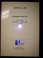 Catalogo Asta Inasta N. 21 - 1 Luglio 2007 (Monete E Cartamoneta) - Libri & Software