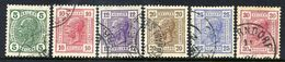 AUSTRIA 1906 Franz Joseph I Definitive Set Of 6, Used.  Michel 133-38 - Used Stamps