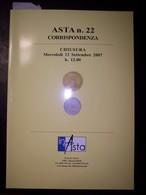 Catalogo Asta Inasta N. 22 - 12 Settembre 2007 (Monete E Cartamoneta) - Libri & Software