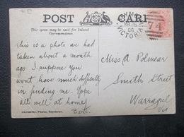Victoria, Australia: 1906 PPC To Warragul, Vic. (#BC11) - 1850-1912 Victoria