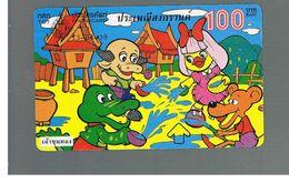 TAILANDIA (THAILAND) -  1996  SONGKRAN FESTIVAL.    - USED  -  RIF. 10384 - Thailand