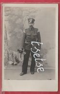 Cerfontaine - Soldat Allemand ... Clairon Chez Le Photographe Béchet - Carte Photo - 1 - (voir Verso ) - Cerfontaine