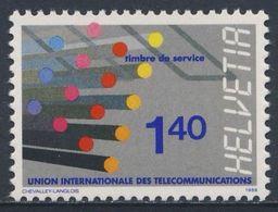 Switzerland Schweiz Suisse 1976 Mi ITU 14 YT 466 ** Optical Fibre Cables / Glasfaserkabel - Telecommunications Network - Telecom