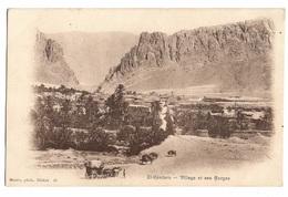 ALGERIE - EL KANTARA Village Et Ses Gorges, Diligence - Autres Villes