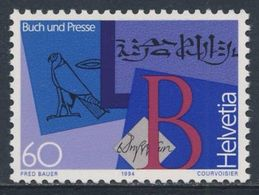 Switzerland Schweiz Suisse 1994 Mi 1520 ** Hieroglyphic, Cuneiform + Roman Scrips / Erste Schriften - Buch Und Presse - Altri