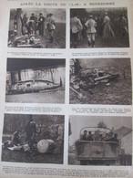 1917 Après La Chute Du Zeppelin à BOURBONNE L-49 - Oude Documenten
