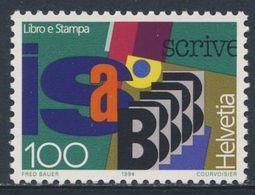 Switzerland Schweiz Suisse 1994 Mi 1521 ** Gothic Letterpress Script / Buchdruck - Buch Und Presse - Talen