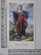 D1016- Santino Ed.Paco N.336 Santa Rosa Da Viterbo - Images Religieuses