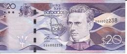 BILLETE DE BARBADOS DE 20 DOLLARS DEL AÑO 2013 (BANKNOTE) - Barbades