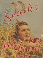 SNOECK'S Groote Almanak 1946 - Magazines & Newspapers