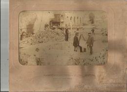 LONGWY (MEURTHE ET MOSELLE) PHOTO PERSONNELS DE LA SOCIETE METALLURGIQUE DE L'EST A L'OUVRAGE 1893 (PHOTO J DAVID ) - Lieux