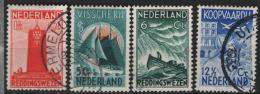 Olanda 1933 Unif. 254/57 O/used VF - 1891-1948 (Wilhelmine)