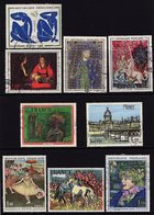 France  1961/1978 - Lot N° 47 De 9 Timbres Oblitérés - Y&T 1320,1479, 1424,1425,1900,1994,1653,2026 Et 1424 - France