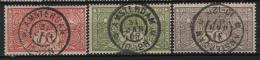 Olanda 1906 Unif. 70/72 O/used VF/F - Used Stamps