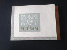 Carnet 1ere Emission Des Timbres Poste Du Viet-Nam 16/08/1951 + 2 Enveloppes 1er Jour - Viêt-Nam
