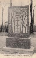 02-villers Cotterets  Monument Et Observatoire  Eleve Pour Le General Mangin - Villers Cotterets