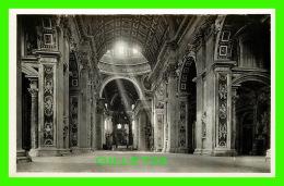 VATICANO, ITALIA - CITTA DEL VATICANO, LA NAVATA PRINCIPALE - BASILICA DI S. PIETRO - - Vatican