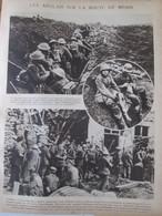 1917  Les Anglais Sur La Route De MENIN     Towerhamlet  Gheluvelt  Paschendaele Anglais Et Néozelandais - Vieux Papiers