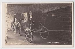 SYDNEY - Vaucluse House - The Old Coaches - Real Photo Postcard - Sydney