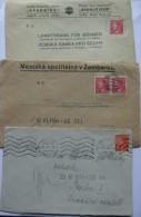 BOHEMIA AND MORAVIA 3 COVERS - Bohemia & Moravia