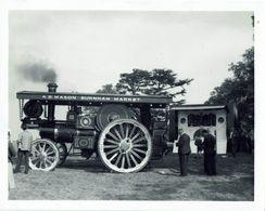 Photo 1921 Burrell 6nhp Showmans Road Loco BT3997 Island Chief Raynham Hall 1962 - Cars