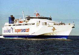 7X5 PHOTO OF SUPER SEACAT THREE - Boats