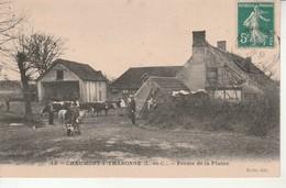 Chaumont S Tharonne-Ferme De La Plaine.Ecrite Par Goyon. - Sonstige Gemeinden
