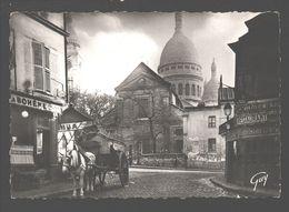 Paris Et Ses Merveilles - Le Vieux Montmartre - Eglise Saint-Pierre Et Sacré-Coeur - Attelage De Cheval - Sacré Coeur