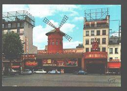 Paris Et Ses Merveilles - Le Moulin Rouge, Place Blanche - Classic Car Citroën DS, 2CV, Bar Tabac - Frankrijk