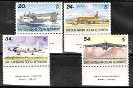 British Indian Ocean Territory 1992 Aircraft MNH - British Indian Ocean Territory (BIOT)