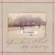 METZ 1899 - Photo Originale De L'occupation Allemande, Le Défilé Au Retour De Saint Privat ( Moselle ) - Lugares