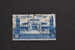 Egypte - 1936 15ème Exposition Agricole Palais De L'industrie 20 M N° 183 Oblitéré - Egypt