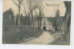 LABRUGUIERE (environs) - Eglise Saint Cécile (cachet Militaire Au Dos ) - Labruguière