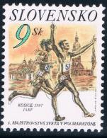 CR0766 Slovakia 1997 Kosice Half Marathon 1 All 0123 - Stamps