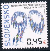 CR0795 Slovakia 2014 Kosice Peace Marathon 90th Anniversary 1 All 0123 - Stamps